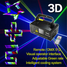 SUNY Stage Lighting DMX 3D Effects RGB Laser Light Projector Disco Club Show