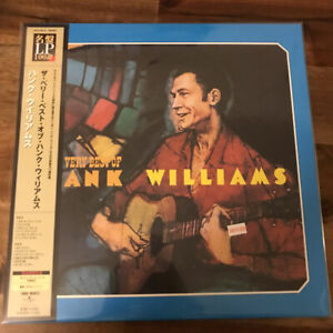 Hank Williams Very Best Of Hank Williams Import UIJY-9013 OBI Ltd Reissue 200G