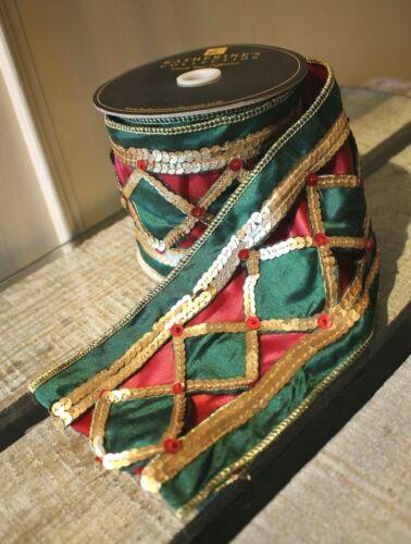Katherine´s Collection Schleifenband Taft 1Meter Tischband Dekoband 10cm breit