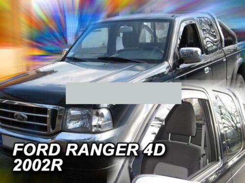 Derivabrisas para Ford Ranger 2002-2006 Double Cab 4 puertas delante