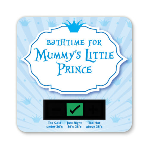 Baby Bath Thermometer-Mummys Little Prince Design