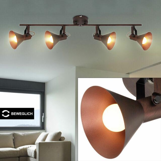 Design Wand Lampe Spot Leuchte Kupfer Metall Beleuchtung Flur Diele Wohn Zimmer