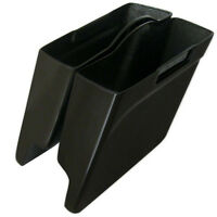 Harley Davidson Stretched Saddlebags - 4 Extended Abs Fits 93 To 201 Unpainted