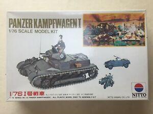 PANZER-KAMPFWAGEN-I-1-76-Scale-Nitto-Model-kit