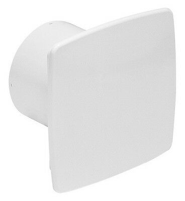 Badlüfter Ø 100 mm weiß Hygrostat Timer Wand Deckenlüfter Ventilator Lüfter Bad
