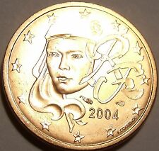 Gem Unc France 2004 2 Euro Cents~Human Face~We Have Gem Unc Coins~Free Shipping