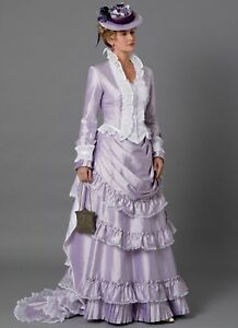 B6692-Sewing-Pattern-Costume-Historical-Victorian-1874-1884-Jacket-Pleated-Skirt