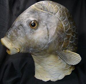 Fun Latex FISH head mask Halloween costume Jokesters