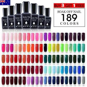 New-Colours-UV-LED-SOAK-OFF-GEL-NAIL-POLISH-BASE-COAT-TOP-COAT-MATT-Belle-Fille