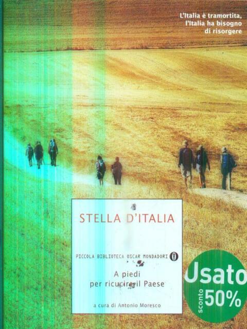 STELLA D'ITALIA. A PIEDI PER RICUCIRE IL PAESE  MORESCO ANTONIO MONDADORI 2013