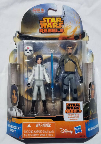 Star Wars Rebels Mission Series 3.75 Figures Two Pack Assortment Hasbro 2014 New