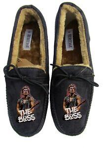 bruce springsteen womens slippers custom printed name personalised the boss