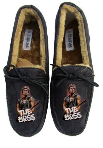 bruce springsteen mens custom slippers personalised rock live singer shirt boss