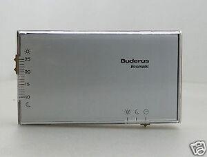 buderus ecomatic 3000 umb fernbedienung bfr ebay. Black Bedroom Furniture Sets. Home Design Ideas