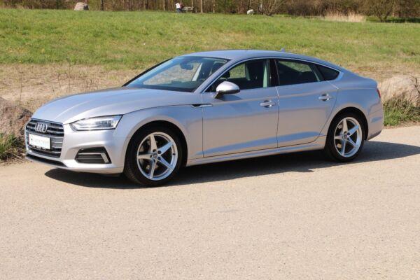 Audi A5 2,0 TFSi 190 Sport Sportback S-tr. billede 0