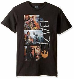 38ae0b05 Star Wars Men's Rogue One Baz Work T-Shirt Med 190272932274 | eBay