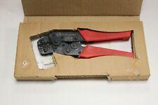 Molex 63811 0800 Hand Crimper Crimp Tool With Die Set 638110800
