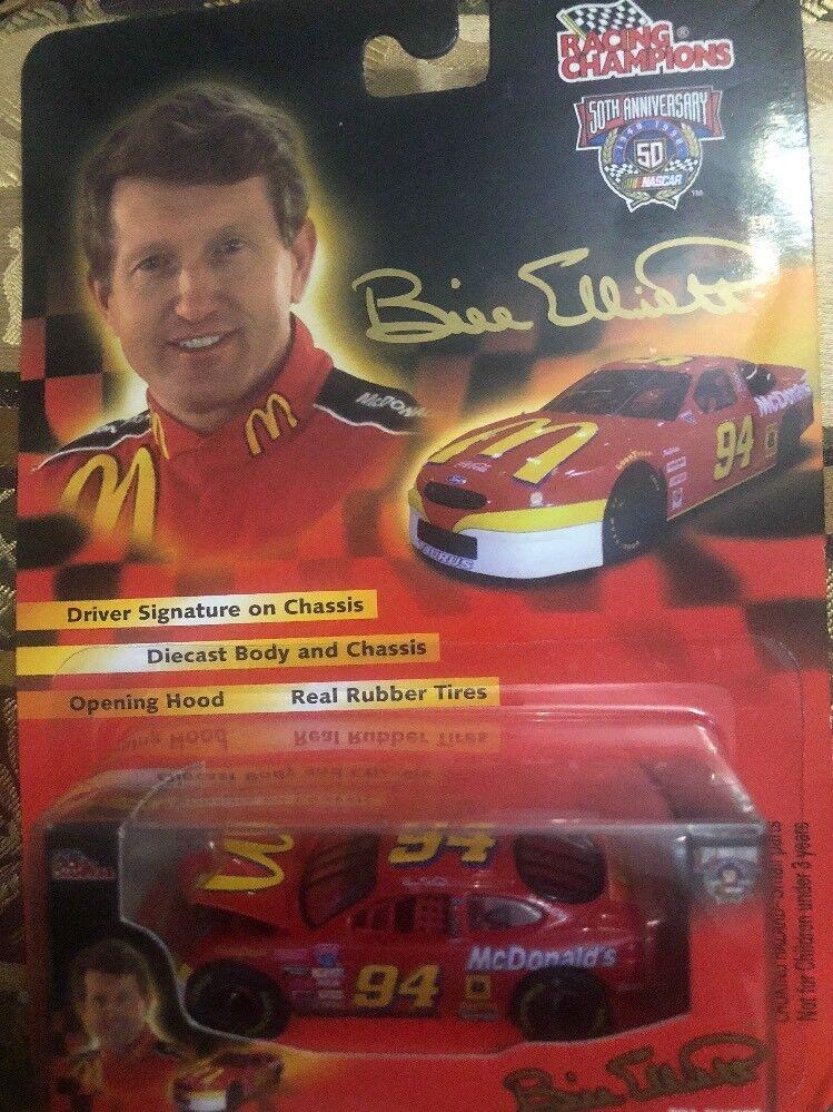 Racing Champions 1 64 1998 Bill Elliott 94 Signature Series Car 50th Anniversary