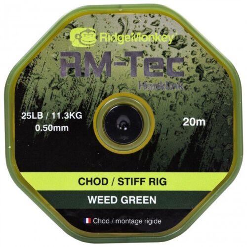 /& 25 lb RM-Tec CEMA Stiff Rig 20 M Pêche à La Carpe ridgemonkey environ 11.34 kg Ridge Monkey 20 lb environ 9.07 kg