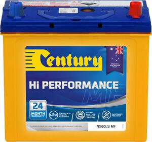 CENTURY-NS60LSMF-HI-PERFORMANCE-BATTERY-24-MTHS-NATIONAL-WARR-AUSTRALIAN-MADE