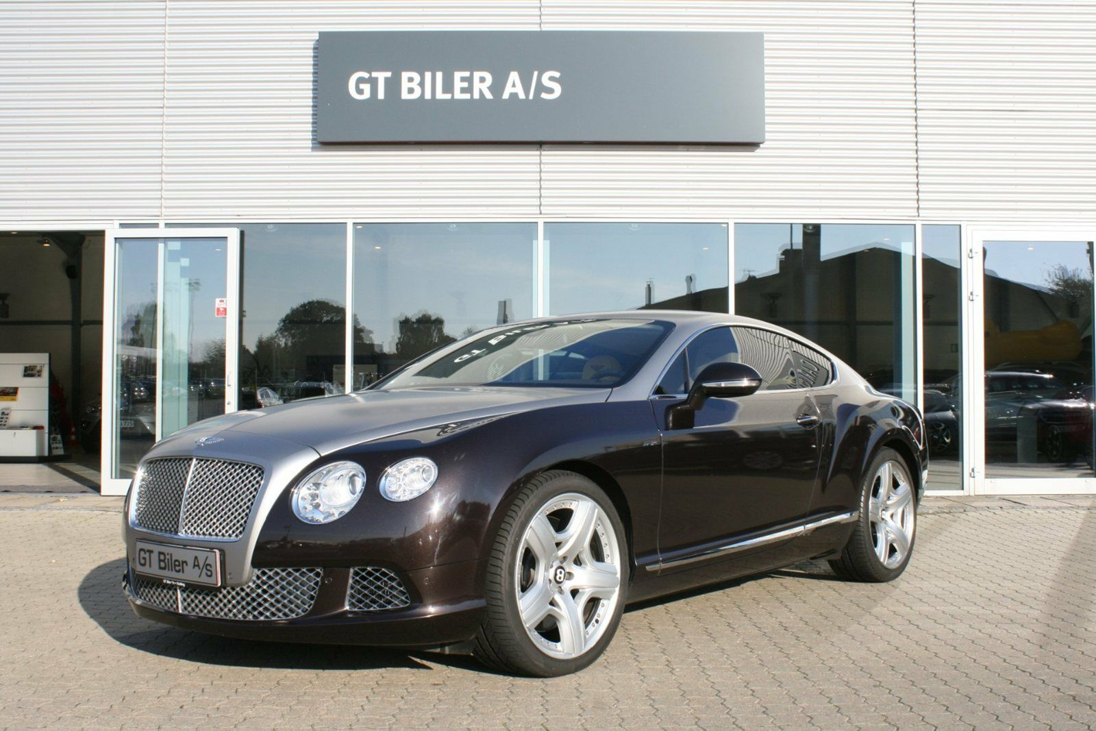 Bentley Continental GT 6,0 W12 aut. 2d - 10.014 kr.
