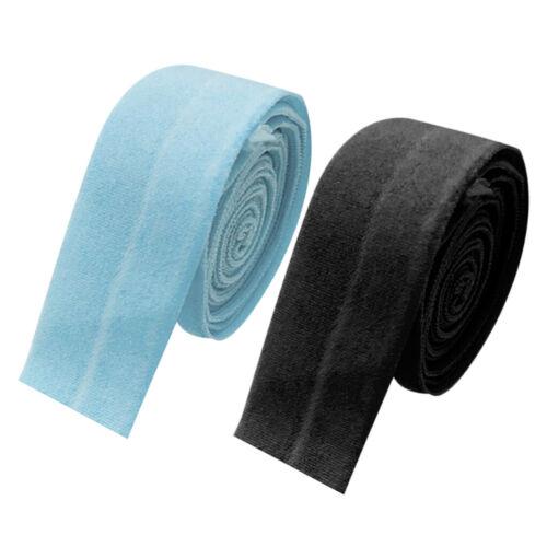 2x 10m Schrägband elastisches Einfassband elastic Nahtband gefalzt 20mm Breit