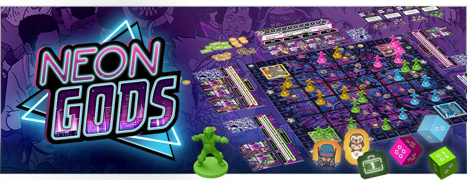 Neon Gods by Plaid Hat Games - New/Sealed - City of Remnants Spiritual Successor