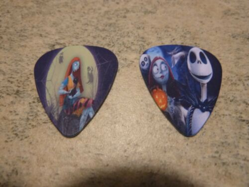 The Nightmare before Christmas single sided picture guitar picks set of 6
