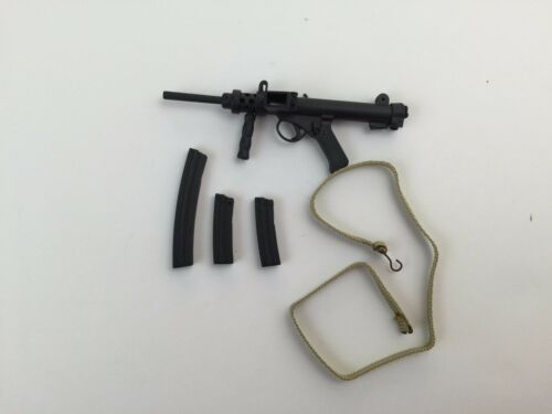 British 70-80s Infantry Weapon Sterling MK6A4 Carbine w// Magazine 1//6th Scale