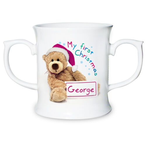 PERSONALISED BABYs FIRST 1st CHRISTMAS GIFT UNIQUE PRESENT IDEA Bone China Cup