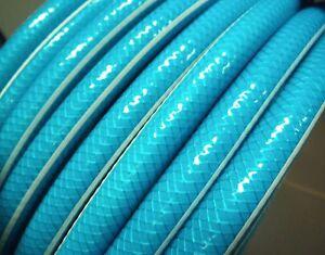 GARDEN HOSE PIPE LAWN WATERING 12mm x 100m AUSTRALIAN TRANS BLUE TAP