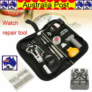 380Pcs-Watch-Repair-Tool-Kit-Watchmaker-Back-Case-Opener-Remover-Spring-Pin-Bars