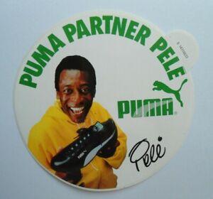 Fan-Aufkleber Puma Sportswear Partner Pele Foot Ball Soccer Brazil 80er