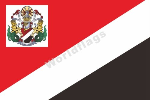 Sealand Flag 3X5FT 6X4FT 8X5FT 3X2FT Royal Standard of the Prince of SEALAND