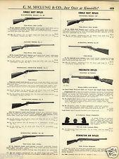 1931 PAPER AD Crosman Remington Benjamin Daisy BB Gun Air Rifle Big Pop Guns