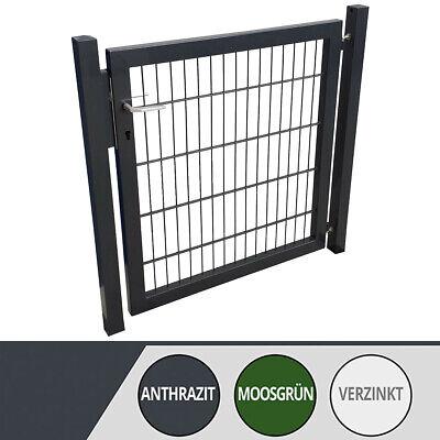 Gartentor Zauntor Doppelstabmattentor Gittermattentor Profi Zaun Tor