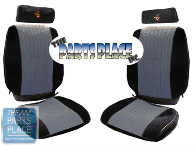 1985-87 Grand National Front & Rear Seat Covers w/ Headrest Covers
