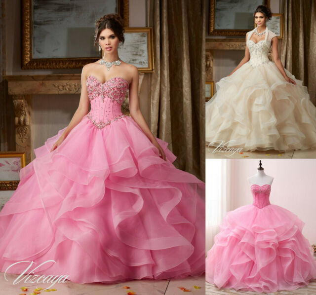 Prom Party Quinceanera Wedding  Dress Formal Cocktail Ball Gown Pageant Dresses