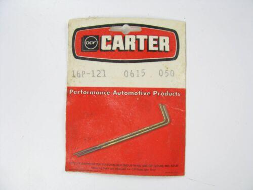 New Old Stock CARTER 16P-121 AFB AVS CARBURETOR METERING RODS  .0615 X .50