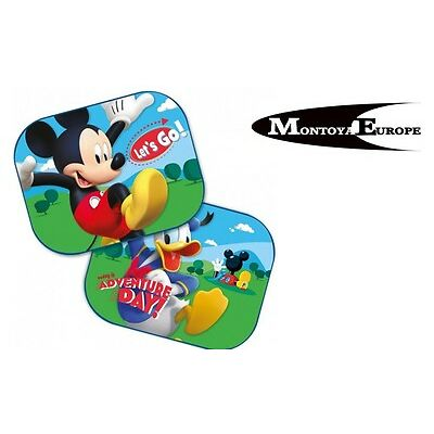 2x Nickelodeon Car Sun Shade UV Baby Children Kids Mickey Mouse