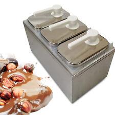 Sauce Dispenser Pump Squeeze Condiment 3l Dispensing 3 Headstainless Steel Good