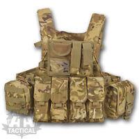 MTP  MULTICAM COMMANDERS ASSAULT VEST BRITISH ARMY STYLE MILITARY