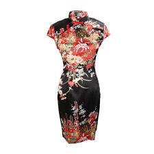 ac5f37fdd Chinese Short Cheongsam Qipao Vintage Evening Party Mini Fancy Dress  Halloween