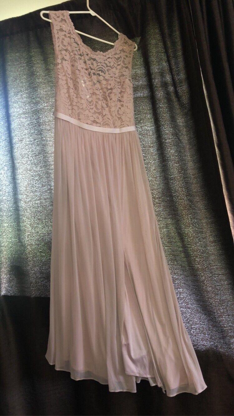 dusty pink bridesmaid dress - image 2