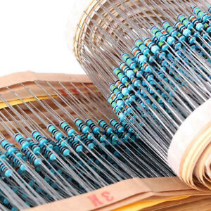 64-Values-1-1-4W-Metal-Resistor-Assortment-Set-0-Ohm-10M-Ohm-1280Pcs-Kit-New