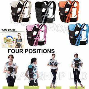 NEW-ERGONOMIC-STRONG-BREATHABLE-ADJUSTABLE-INFANT-NEWBORN-BABY-CARRIER-BACKPACK