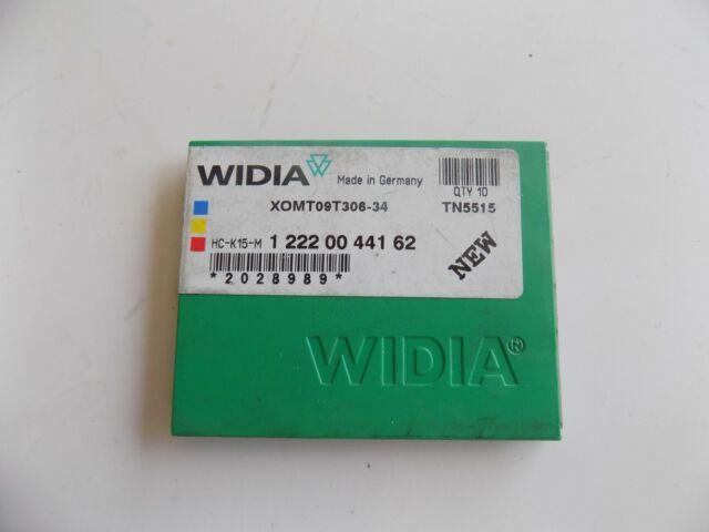 GRADE TN7105 10 PCS WIDIA CCMT-321 CARBIDE INSERTS