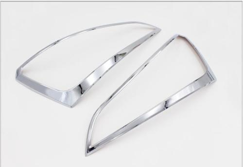 ABS Chrome Rear Light Tail Lamp Cover Trim 2pcs for Audi Q5 2008 2009 2010-2015