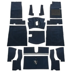 Carpet-set-Complete-Navy-Blue-fits-Austin-Healey-Sprite-2-MG-Midget-1-1961-63