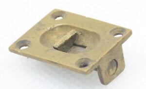 Vintage Brass Cabinet Latch (INV I143)